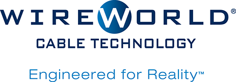 Wireworld Cable Technology Logo, Engineered for Reality